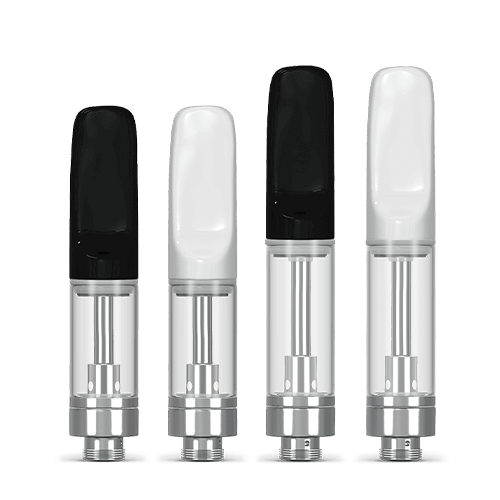 Core series glass vape cartridges wholesale and bulk in .5ml and 1ml