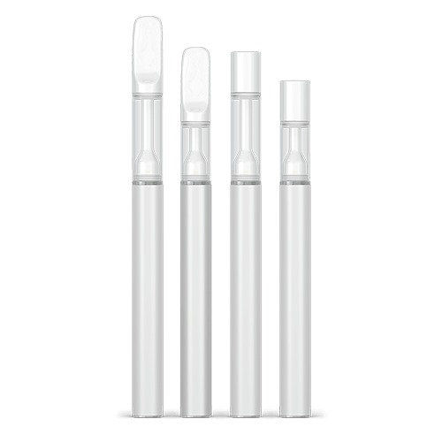 Fully ceramic disposable vape pens and carts for bulk and wholesale - ghost series