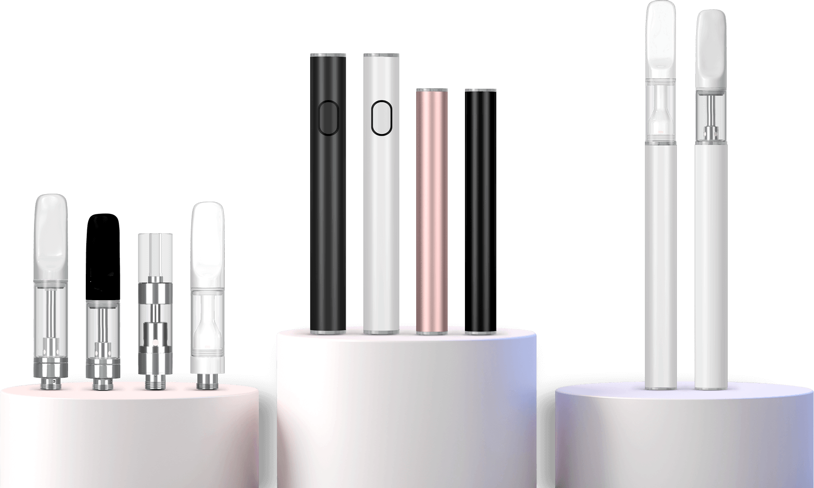Verified Vapes mouth pieces and batteries banner